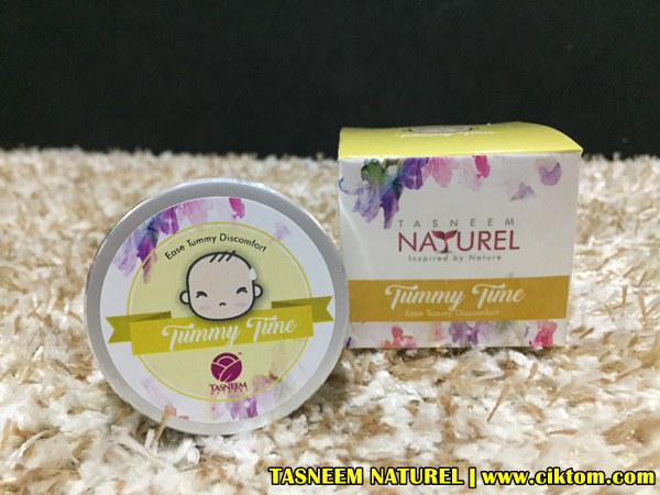 tummy time baby balm tasneem naturel