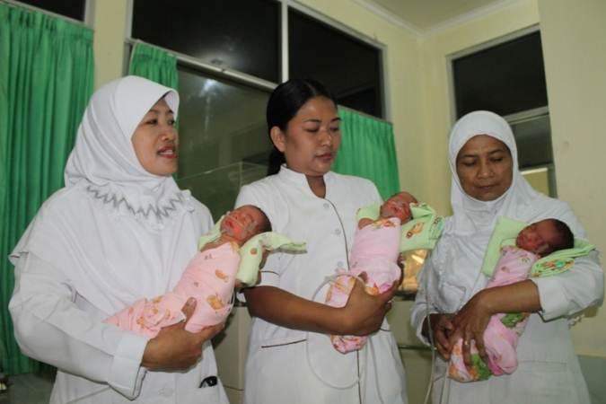 Bayi kembar tiga asal Paron Ngawi, kondisinya makin membaik