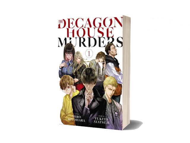 The Decagon House Murders Vol 1