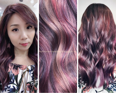 Review of #RightColorMatters by Chez Vous Hair Salon Singapore