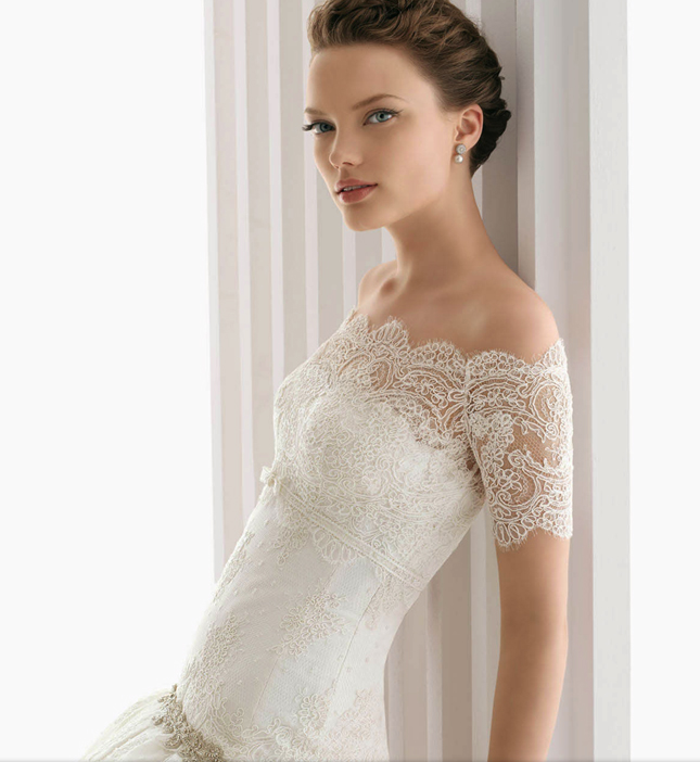 rosa clara lace wedding dress