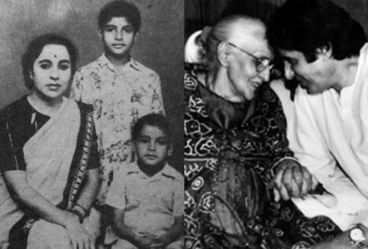 amitabh bachchan mothers death anniversary