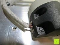 Kabel: JEKING 3-er Würfel Acryl Warmweiße LED Deckenlampe (2700-3200k) für Schlafzimmer&Esszimmer Aluminium Leuchtmittel 15W / CE Zertifizierung / 37.1 x 11.4 x 15.5 cm / 230V AC / IP 20 [Energieklasse A++] [Energieklasse A++]