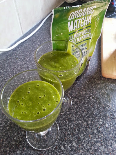 Matcha Green Tea Smoothie!