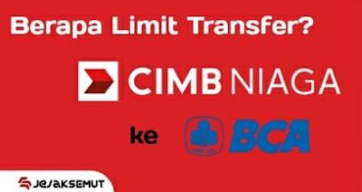 limit transfer cimb niaga ke bca