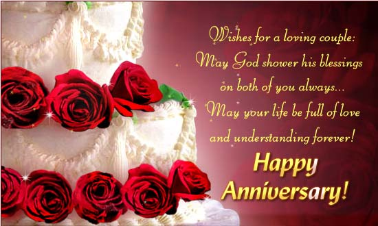 Happy Wedding Anniversary Wishes Messages For Couple 4