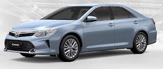 Harga Toyota Camry Blue Mica Metallic di Pontianak