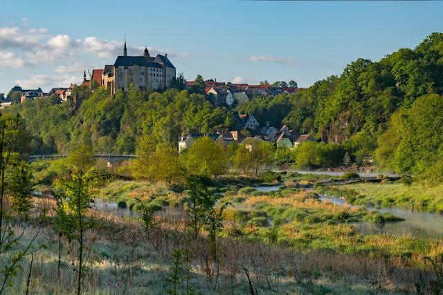 Lutherweg von Leisnig nach Döbeln - Wandern in Sachsen - Region Leipzig - Burg Mildenstein - Kloster Buch - Wanderung 02