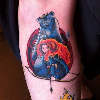 foto 8 de tattoos de princesas