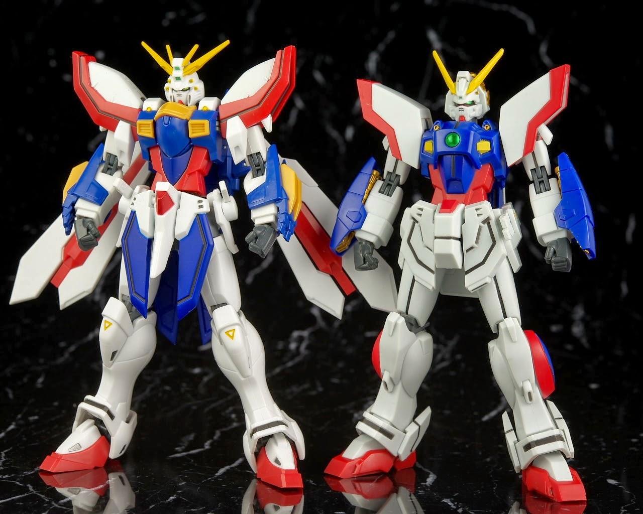 Gundam Family Robot Spirits Side Ms Shining Gundam Review