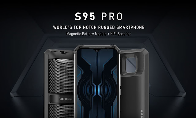 World-Class Modular Rugged Phone Pioneer Doogee Released the New Generation Modular Phone - S95 Pro
