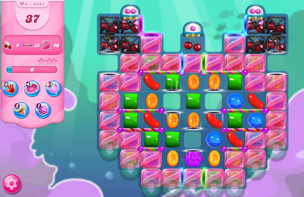 Candy Crush Saga level 8541