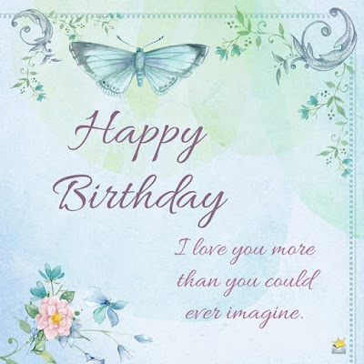 Happy birthday, mother