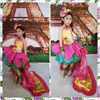 busana fashion show dan adat di Banjarbaru