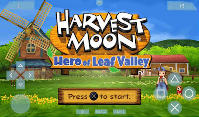download Game Harvest Moon Hero of Leaf Valley CSO High Compress For PSP Android/PC