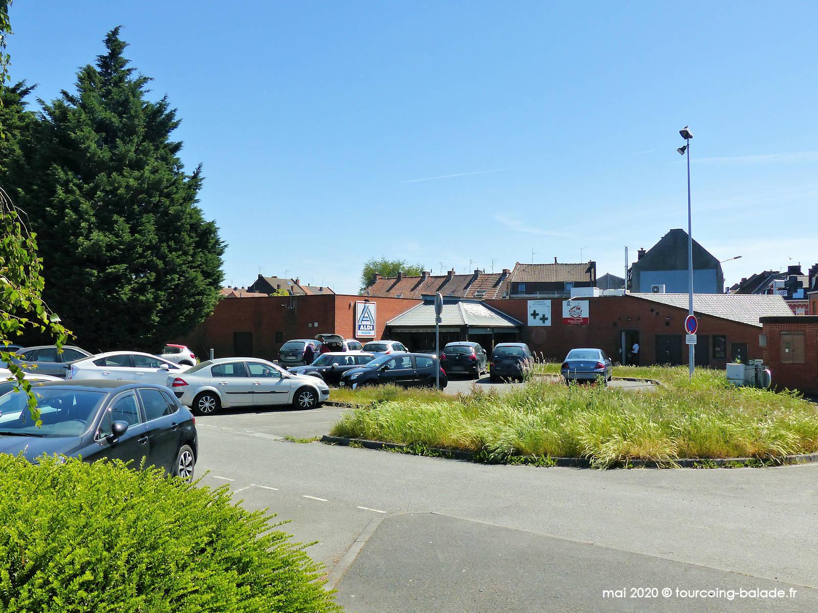 Parking ALDI Blanc Seau, Tourcoing 2020