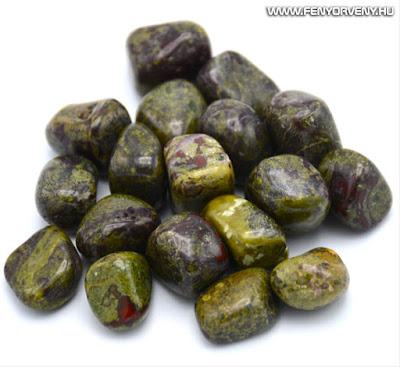 Kristálygyógyászat/Gyógyító kövek: Sárkánykő (sárkányvérkő / sárkányvér jáspis)