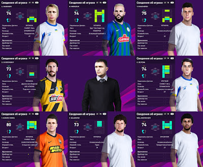 PES 2020 Facepack Ukraine UPL 1 by Serge
