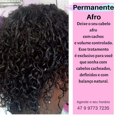 tratamento cabelo afro em itapema