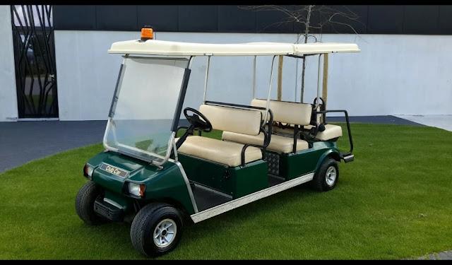 mobil golf banten