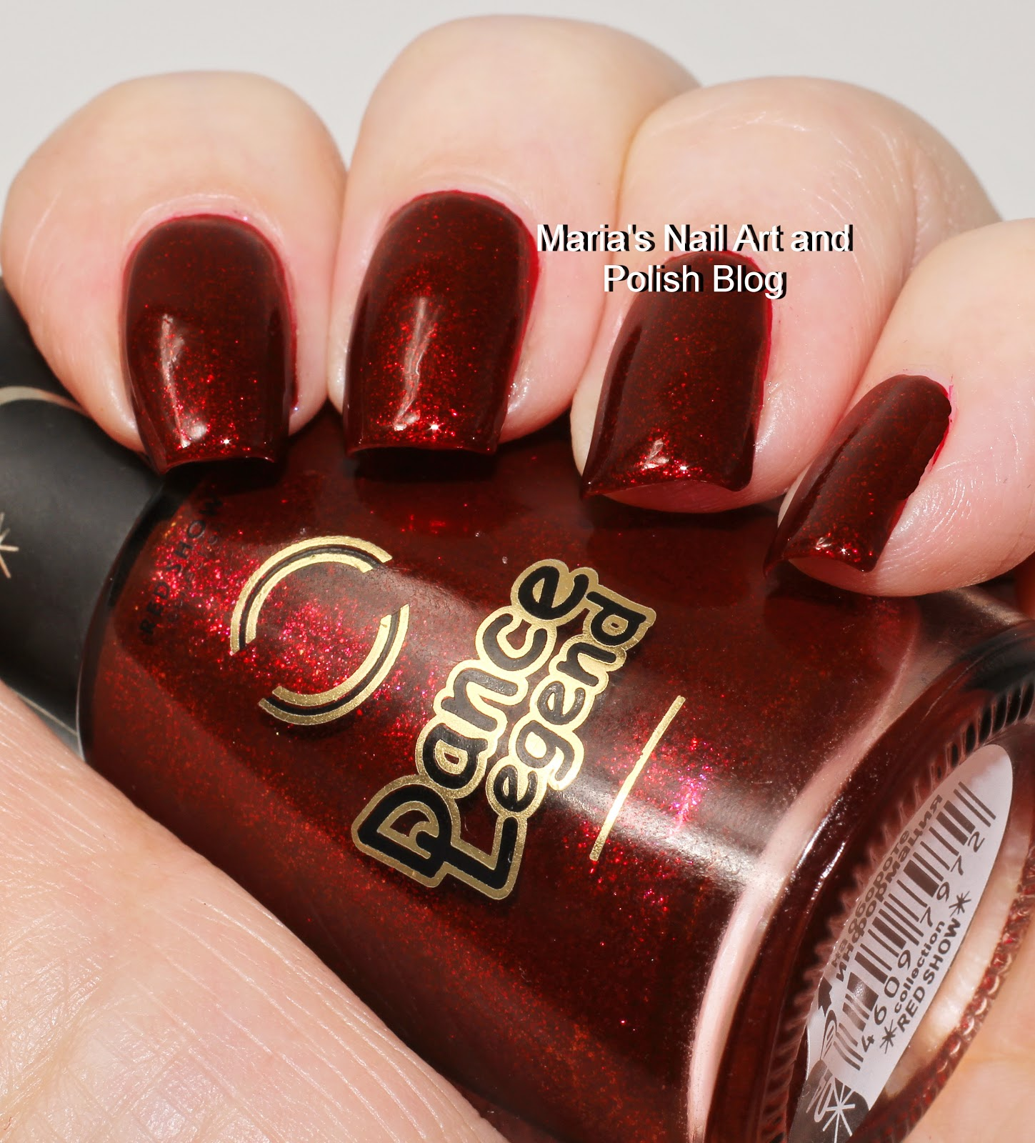 Marias Nail Art And Polish Blog: Dance Legend Red Show 04