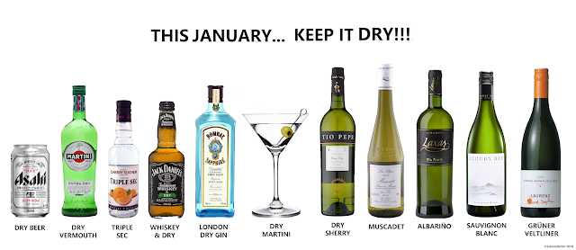 This January... Keep it dry by ©LeDomduVin 2019