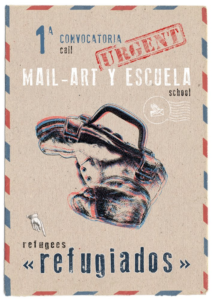 I CONVOCATORIA DE MAIL ART EN LA ESCUELA