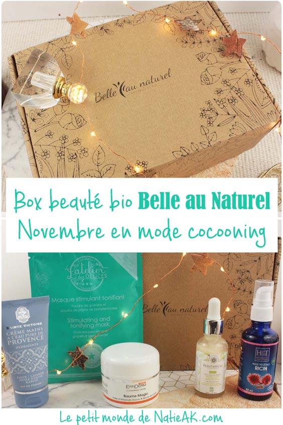 avis box novembre Belle au naturel