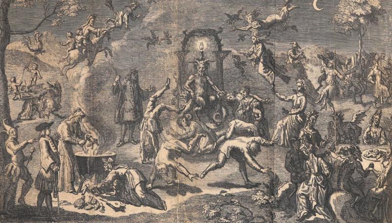 «Description de l'assemblée des sorciers qu'on appelle Sabbat» - Pierre de Lancre - 1612