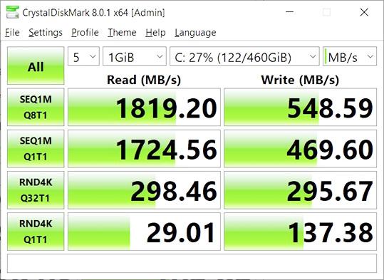 Tải CrystalDiskMark - kiểm tra tốc độ đọc-ghi ổ cứng nhanh và chuẩn a