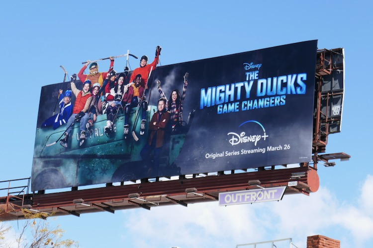 Mighty Ducks Game Changers extension billboard