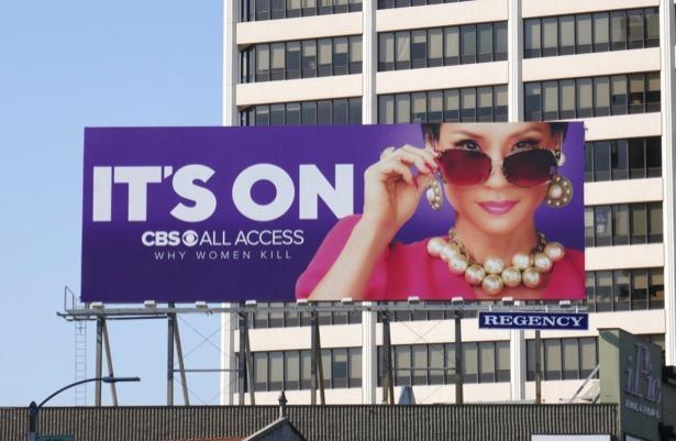 It' On CBS Why Women Kill season 1 billboard