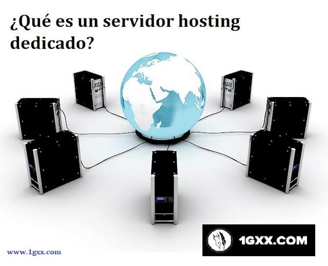 ¿Qué es un servidor hosting dedicado?