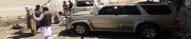 Two Policemen, Six Others Injured In Quetta Bomb Attack