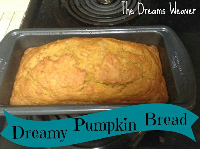 Dreamy Pumpkin Bread