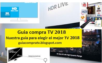 guia compra tv 2018 analisis tv led