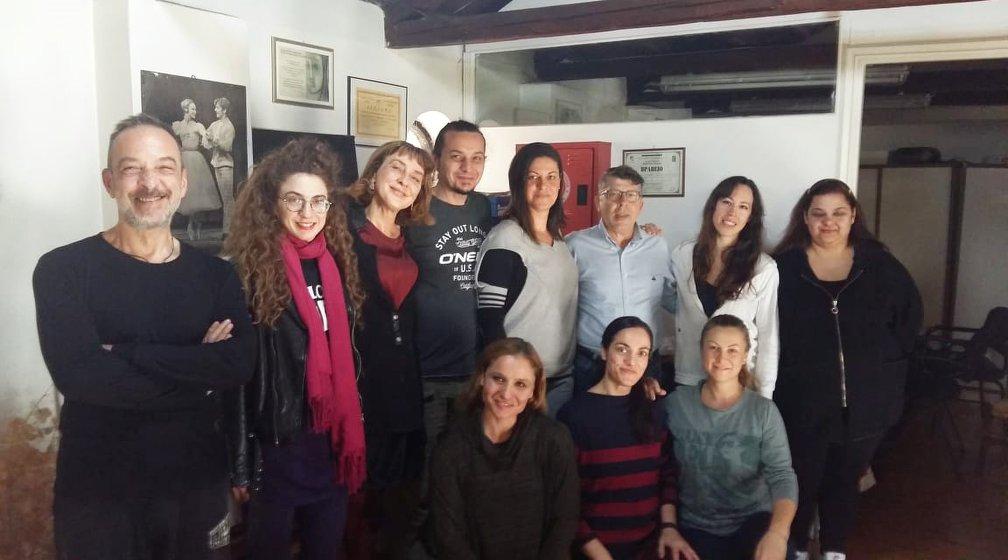 Συνάντηση του αντιδημάρχου Πολιτισμού με τους καθηγητές της Δημοτικής Σχολής Μπαλέτου και της Ανώτερης Σχολής Χορού