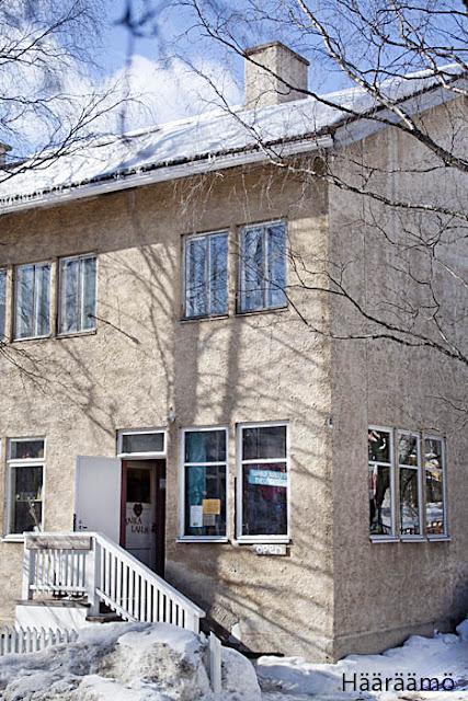 Johannes Laurin käsityötalo Rovaniemi