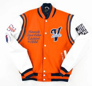 "Virginia State University ""Motto 2.0"" varsity jacket"