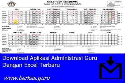 Download Aplikasi Administrasi Guru Dengan Excel Terbaru