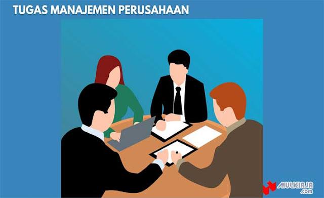 Tugas Manajemen Perusahaan
