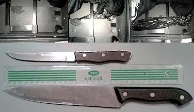 Knives Concealed in Baggage (GUM)
