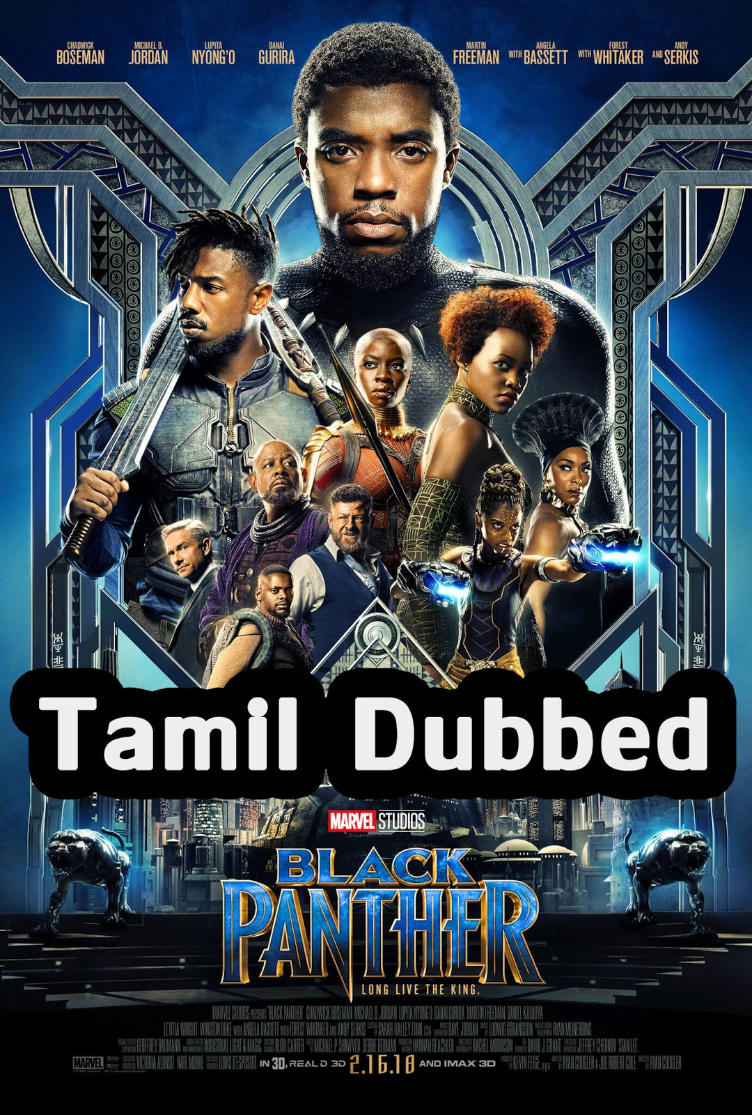 Black Panther Tamil Dubbed Movie Download HD 720 bluray