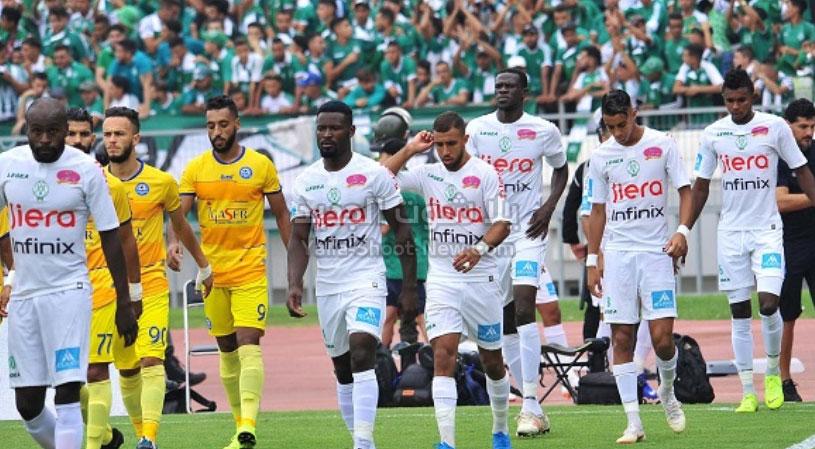 نهضة الزمامرة يفرض التعادل الاجابي على فريق رجاء بني ملال في الدوري المغربي
