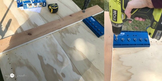 using a kreg shelf pin jig