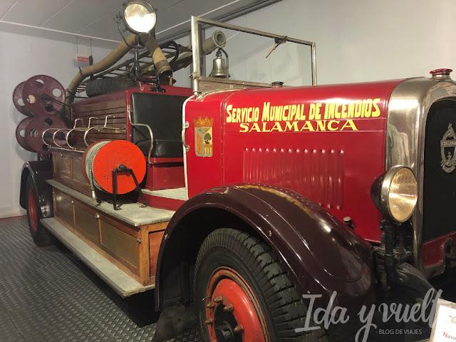 Museo de Historia de la Automoción antiguo coche de bomberos