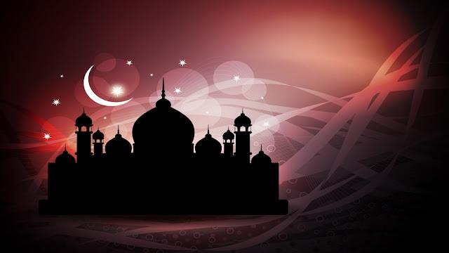 wallpaper masjid shadow