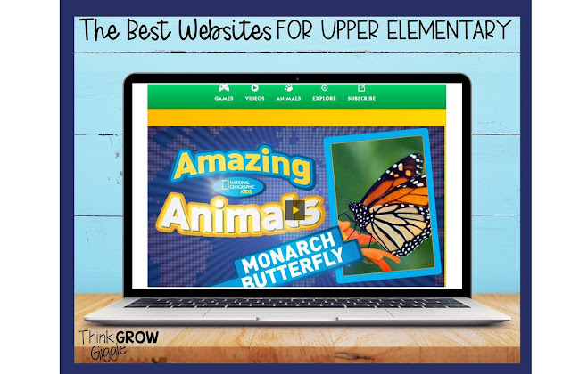 top ela and math websites for grades 3-5