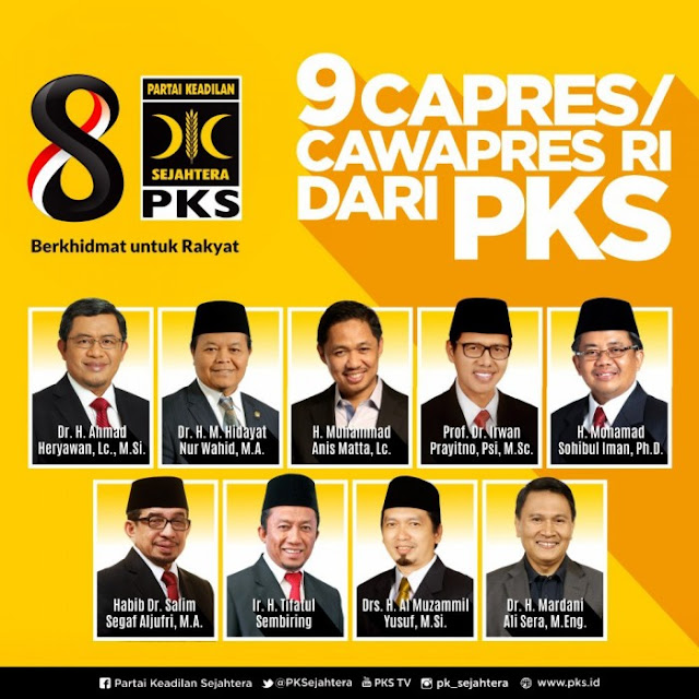 Pengamat: Tiga Kader PKS Ini Tepat Disandingkan dengan Prabowo