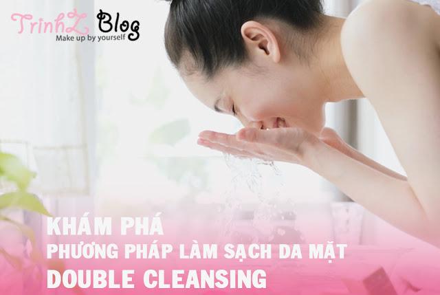 lam sach da mat double cleansing